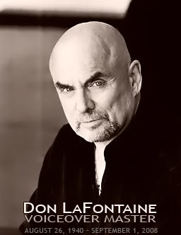 Don LaFontaine Voice-Over Master . The King Of Movie Trailer Voice Overs